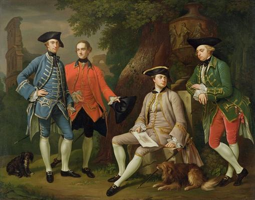 James Grant of Grant, John Mytton, the Honorable Thomas Robinson and Thomas Wynne, c.1760