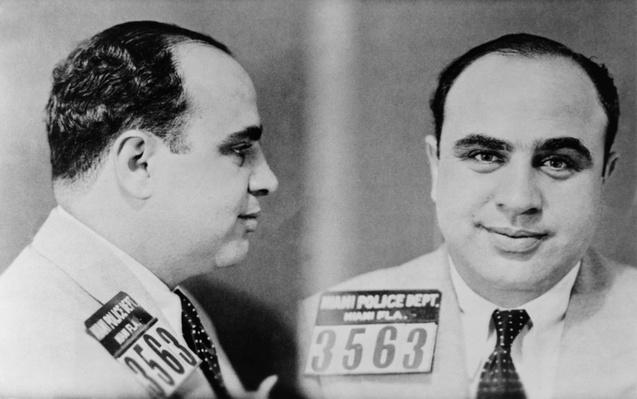 Al Capone Mugshots | Ken Burns: Prohibition