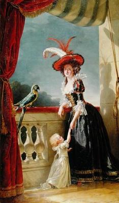 Portrait of Louise-Elisabeth de France