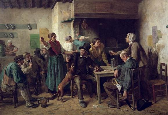 Wine Shop Monday, 1858