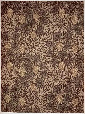 'Vine' wallpaper design, 1873