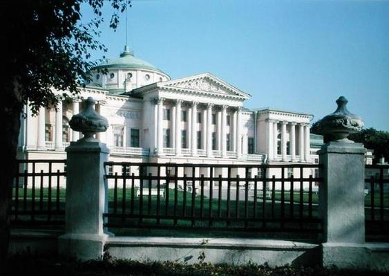 The Sheremetyev Palace in Ostankino, built 1770s