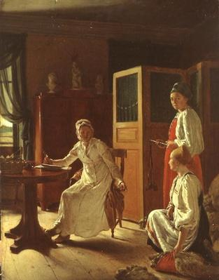 Morning of the Lady of the the Manor, 1823