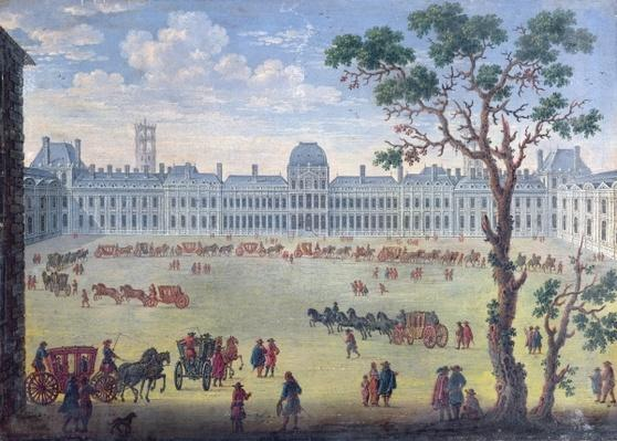 Imaginary View of the Tuileries