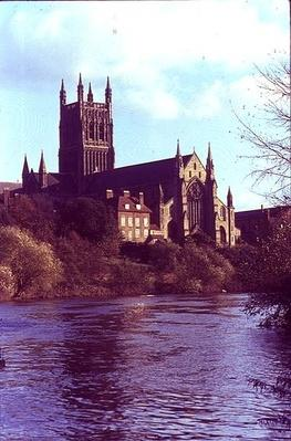 North west view from the River Severn