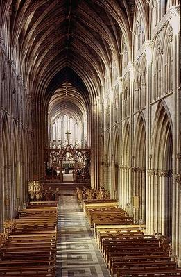 View of the Nave, built 1317-c.1370