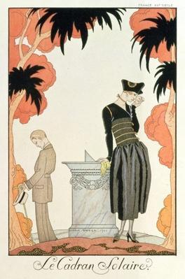 """""""Falbalas et fanfreluches, Almanach des Modes"""", fashions for 1921"""