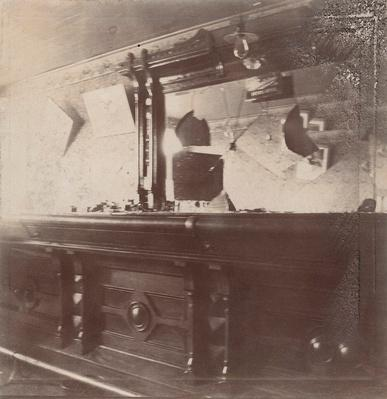 Interior of Saloon Wrecked by Carrie Nation | Ken Burns: Prohibition
