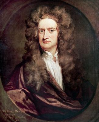 Portrait of Isaac Newton (1642-1727) | Famous Philosophers