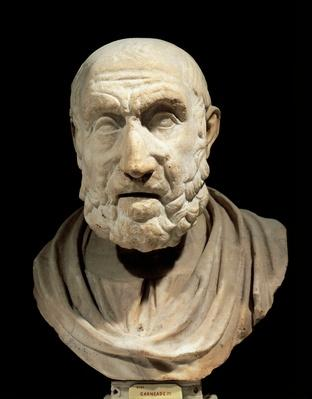 Bust of Hippocrates of Cos (Cos, 460 BC circa-Larissa, 377 BC) | Famous Mathematicians