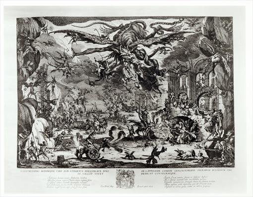The Temptation of St. Anthony, 17th century