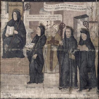 Saint Robert and various Benedictine Saints, 1561