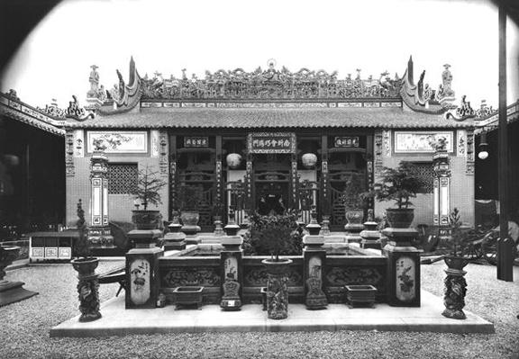 The Chinese Pavilion at the Universal Exhibition of 1889 in Paris