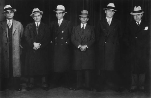 Gangster Lineup, Chicago | Ken Burns: Prohibition