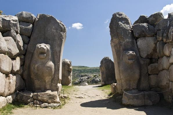 Lion Gate, Hattusa, Bogazkale, Turkey | UNESCO World Heritage Site