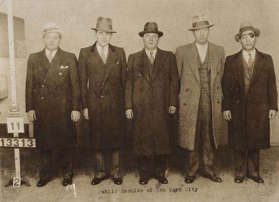 Line-Up of Jewish Gangsters, 1931 | Ken Burns: Prohibition