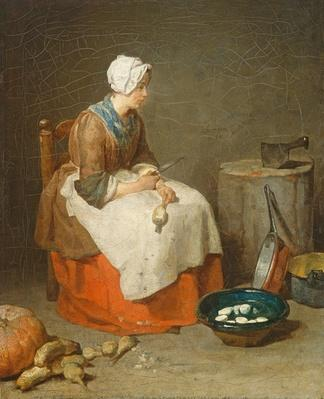 The Kitchen Maid, 1738