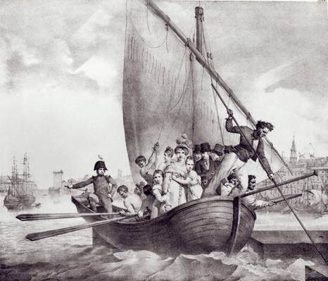 Bonaparte family arriving in Toulon