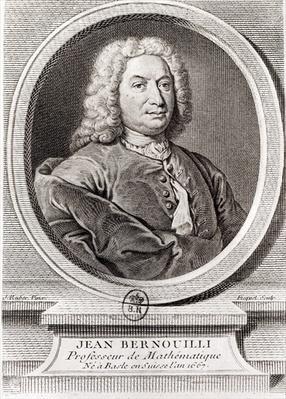Portrait of Jean Bernoulli