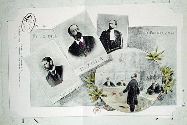 Documents concerning the Dreyfus Affair, Zola's trial, 1898