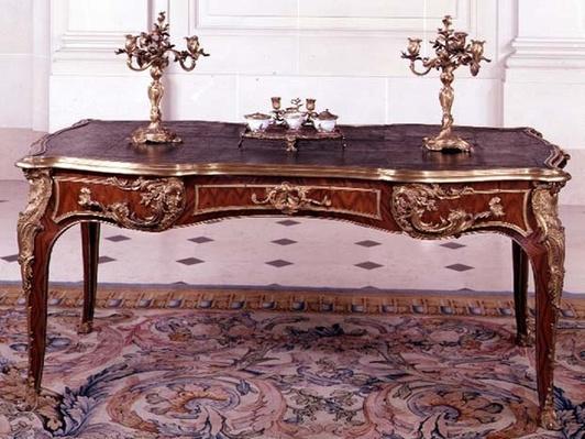 Bureau plat, late 18th century