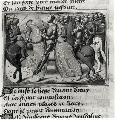 Ms.Fr.5054 fol.26 r Charles VII