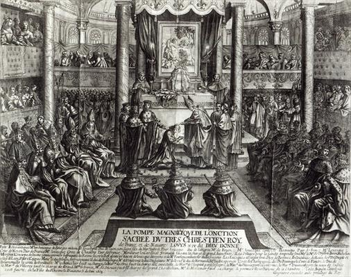 Anointing of Louis XIV