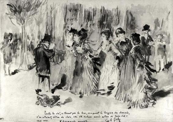 Illustration for 'L'Assommoir'