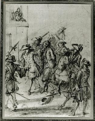 The Arrest of Louis Dominique Cartouche