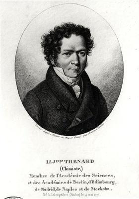 Portrait of Louis Jacques Thenard
