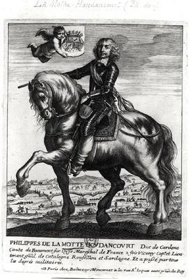 Portrait of Philippe de La Mothe Houdancourt
