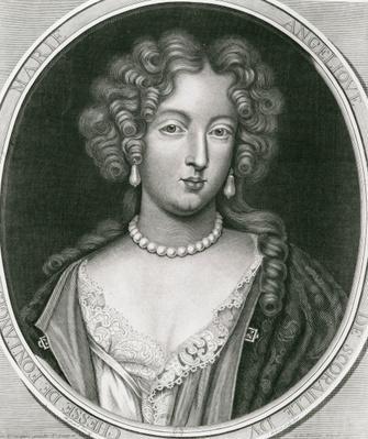 Portrait of Marie Angelique de Scoraille, duchesse de Fontanges