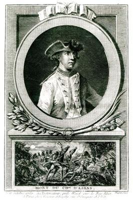 Portrait of Louis, chevalier d'Assas