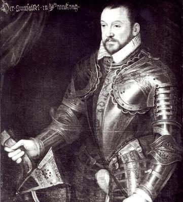 Portrait of Francois I, Duke of Montmorency