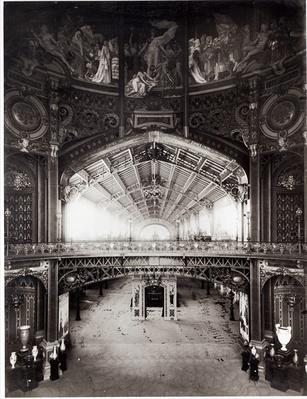 The Central Dome of the Universal Exhibition of 1889 in Paris