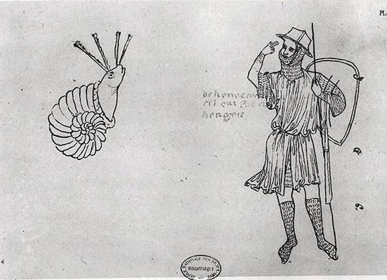 Fol.2 Snail and Hungarian soldier