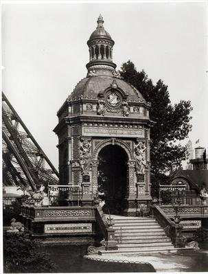 The Pavilion Perrusson at the Universal Exhibition of 1889 in Paris