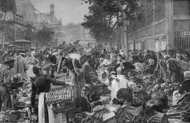 Les Halles, 1895