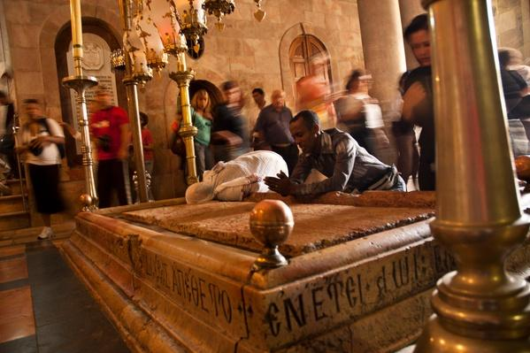 Church of the Holy Sepulchre in Jerusalem, Israel | World Religions: Christianity