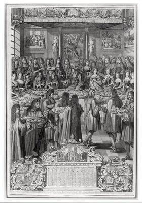 Dinner of Louis XIV