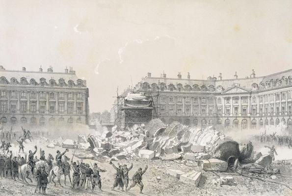 The Fall of the Vendome Column during the Commune