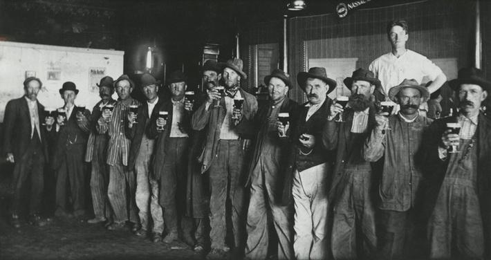 Scene at Redepenning's Saloon, Nassau, Minnesota | Ken Burns & Lynn Novick: Prohibition