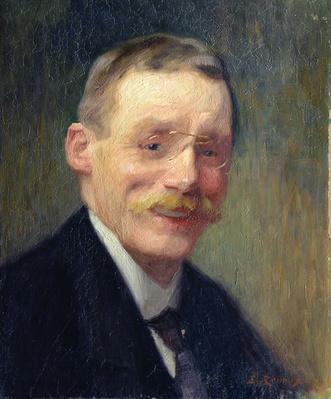 Self portrait, Smiling