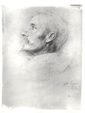 Portrait of Walter Crane