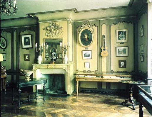 Drawing room in the birthplace of Hector Berlioz