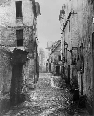 Rue Traversine, from rue d'Arras, Paris, between 1858-78