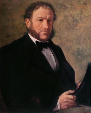 Portrait of Monsieur Ruelle, 1861 by Degas, Edgar (1834-1917)