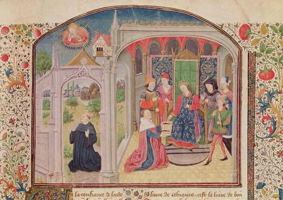Ms 927 Fol.1 Presentation of The Ethics to the King by the Translator, from 'Ethics, Politics and Economics' by Aristotle