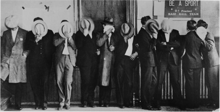 A Line of Shamefaced Bootleggers | Ken Burns: Prohibition