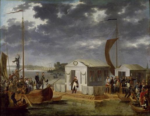 Meeting between Napoleon Bonaparte